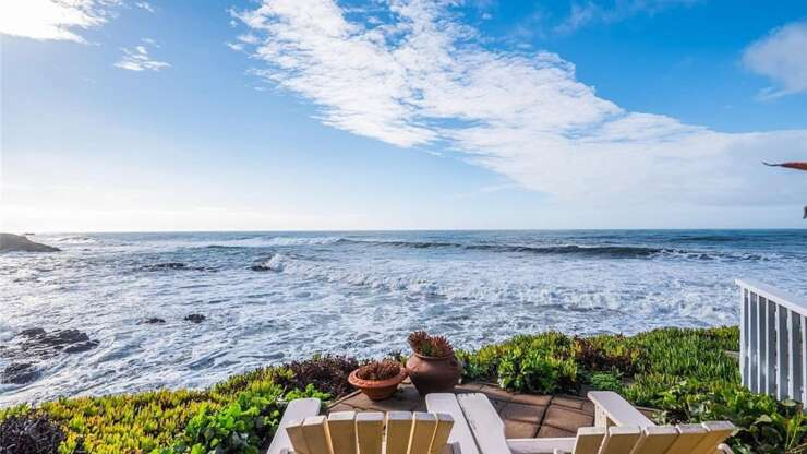 California Spanish Style Oceanfront Home: 1925 Sherwood Dr, Cambria, CA 93428