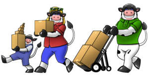 Santa Fe NM to Los Angeles CA Moving Company 888-368-1788